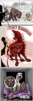Lucid dream jump scare by IsisMasshiro