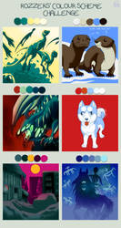 Color scheme challenge by IsisMasshiro