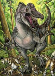 Spinosaurus by IsisMasshiro