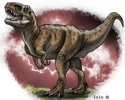 Tyrannosaurus by IsisMasshiro