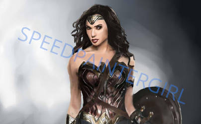 Wonder Woman by SpeedPainterGirl