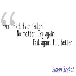 Fail better by Skarndebrax