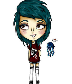 Kylie The Jellyfish! by Candi-floss