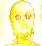 Huevember 3 - C-3PO by AjaxTelamoneis
