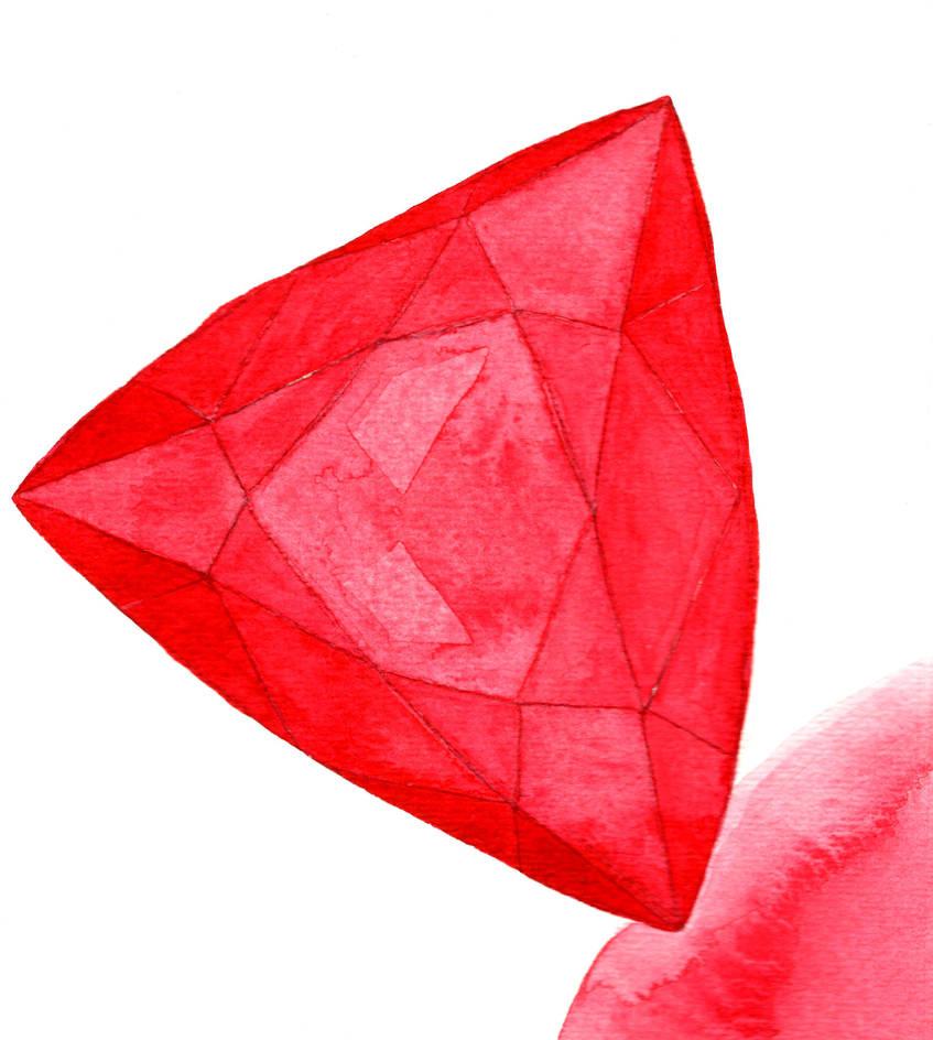 Ruby (Trillion Cut) by AjaxTelamoneis