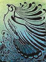 ACEO - Untitled Avian by Quoosa