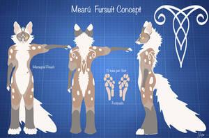Mearu Fursuit Concept by Quoosa