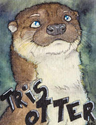Tris Otter - Badge by Quoosa