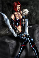 OlO Bloodrayne OlO by SquallLeonhart245
