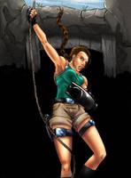 Lara Croft - Tomb Raider by SquallLeonhart245