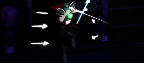 I undyne will strike you down!! by SoftlyCherried