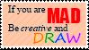 Drawing Stamp by CelestialZodiac