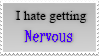 Hate getting Nervous Stamp by CelestialZodiac