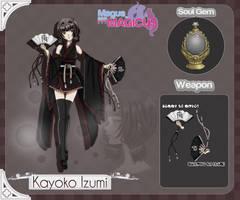 .MM: Kayoko Izumi. by PetitAnge
