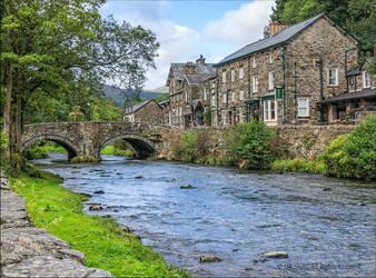 Beddgelert, North Wales, UK by UK-Shots