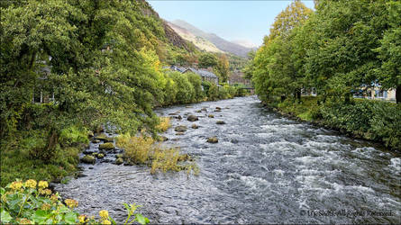 View from Beddgelert, North Wales, UK by UK-Shots