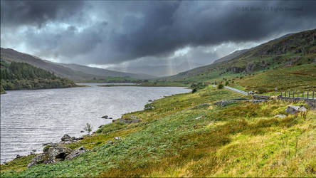 Strom over Capel Curig, North Wales, UK by UK-Shots