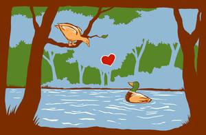Ducky Love by Alecat