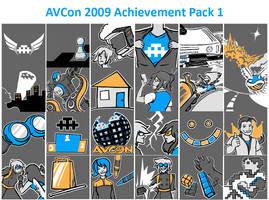 AVCon Achievements 2009 by Alecat