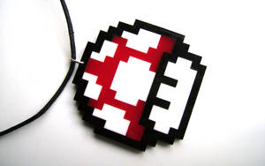 8-Bit Mushroom by Alecat