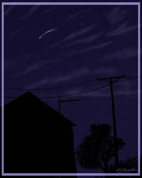 Catch a falling star... by Alecat