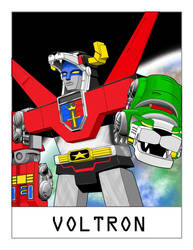 AlphaBots Week XXII: V is for Voltron by SamWolk