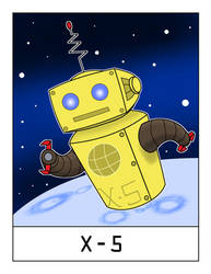 AlphaBots Week XXIV: X is for X-5 by SamWolk