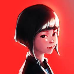 Red Sketch by JasperCarl