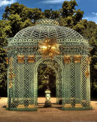 Potsdam - Gitterpavillon by pingallery