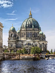 Berlin Cathedral Water Side I by pingallery