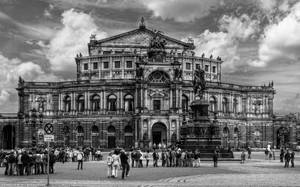 Dresden - Semper Opera House 3 by pingallery