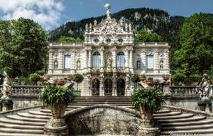 Ettal - Castle Linderhof 02 by pingallery