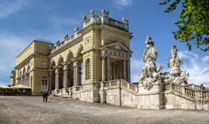 Gloriette-Castle Schoenbrunn 2 by pingallery
