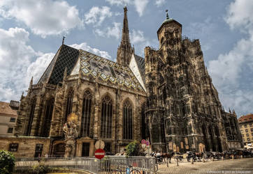 Stephansdom in Vienna 2 by pingallery