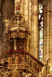 Detail Interior St. Veits Dom by pingallery