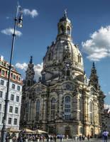 Dresden - Frauenkirche by pingallery