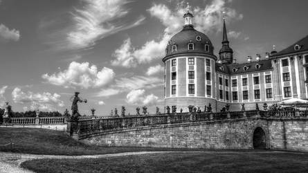 Castle Moritzburg I by pingallery