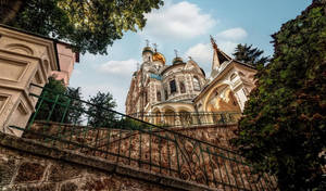 Orthodox Church in Karlovy Vary by pingallery