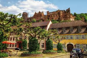 Castle Ruins in Heidelberg III by pingallery