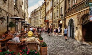 Prague - Street Scene I by pingallery
