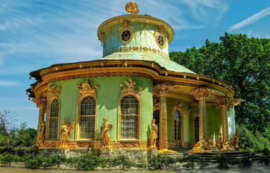 Park Sanssouci - Chinese House by pingallery