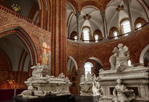 Roskilde Cathedral I by pingallery