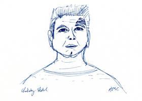 Chakotay sketch by AdamTSC