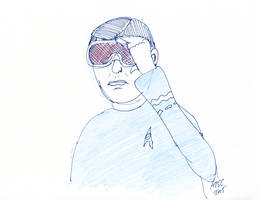 McCoy Goggles Sketch by AdamTSC