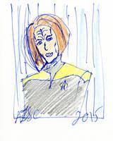 B'Elanna Torres Sketch by AdamTSC
