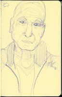 Patrick Stewart Sketch by AdamTSC