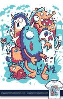 Monster Mash by anggatantama