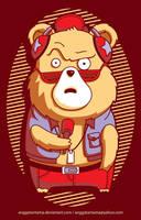 Brown Bear by anggatantama