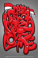 Damn Indonesia Love Me by anggatantama