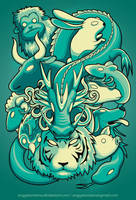 Chinese Zodiac by anggatantama